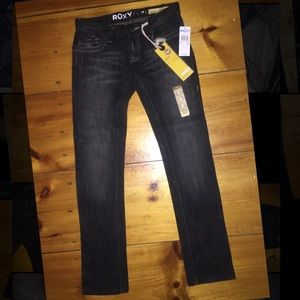 ROXY Gold Coast Skinny Fit Jeans Juniors sz 3